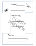 I Message or I Statement Printable