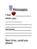 I Messages