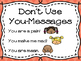 I-Messages Posters