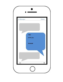 I Messages - Texting Freebie
