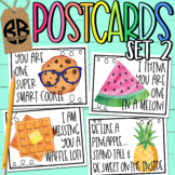 I Miss You Postcards for Distance Learning Classrooms Set 2