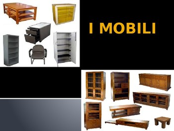 I Mobili Italiani- Italian Furniture Vocabulary