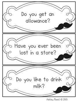 I Moustache You a Question {Question of the Day}