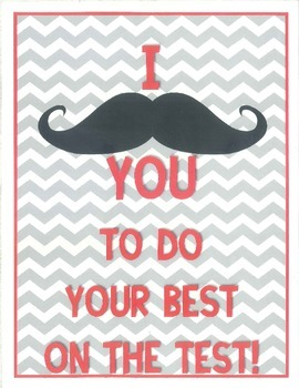 """I """"Moustache"""" You to Do Your Best!"""