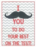 "I ""Moustache"" You to Do Your Best!"