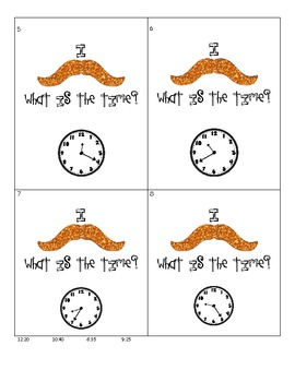 I Mustache, What Is The Time?