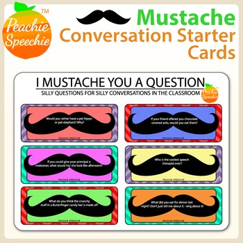 I Mustache You A Question... Conversation Starters