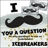 """I """"Mustache"""" You A Question Icebreaker Game"""