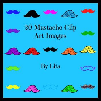 I Mustache You A Question! Mustache Clip Art