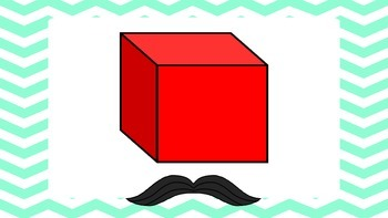 I Mustache You About 3D Shapes