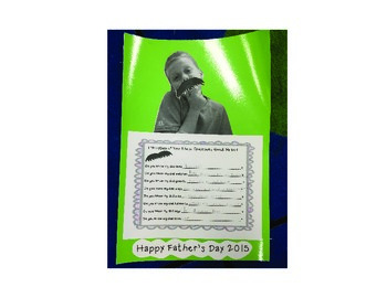 I Mustache You About My Dad- A Father's Day Craftivity FREEBIE