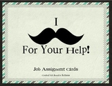 "I ""Mustache"" You For Help!"
