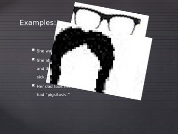 I Mustache You - Fragment, Run-on, Complete Sentence