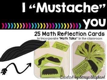 "I ""Mustache"" You - Math Talks"
