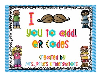 I Mustache You To Add- QR Codes