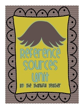 """I """"Mustache"""" You... What Reference Source to Use?"""