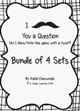 I Mustache You a Question - an I have/Who has Game with a Twist - Bundle