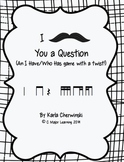 I Mustache You a Question-An I Have/Who has Game with a Twist! ti-tika tika-ti