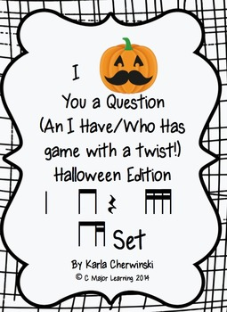 I Mustache You a Question-An I have/who has game-Halloween-ti-tika