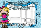 """""""I Mustache You a Question!""""- Back to School"""
