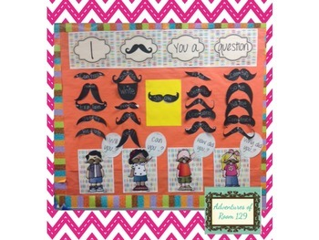 I Mustache You a Question - Bulletin Board Set