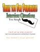 I Mustache You a Question: Interview Sheet Speaking & Listening Activity