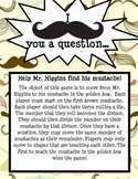 I Mustache You a Question: Long Division