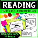 Common Core Reading Standard Literary & Informational Text for 1st Grade