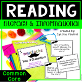 Common Core Reading Standards Literary & Informational Text for 2nd Grade