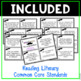 Common Core Reading Standards Literary & Informational Text for 3rd Grade