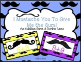 I Mustache You to Give Me the Sum! An Addition Game With Number Lines