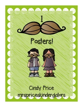 I Mustache posters