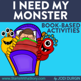 I NEED MY MONSTER Activities and Read Aloud Lessons for Di