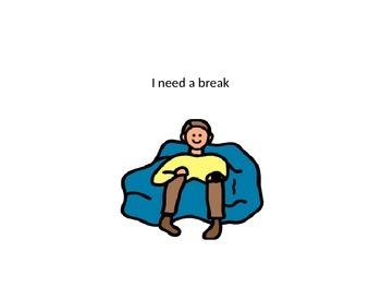 I Need A Break Social Story