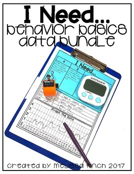 I Need...- Behavior Basics Data