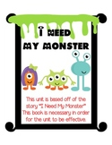 """I Need My Monster"""