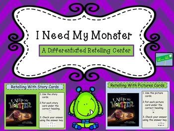 I Need My Monster Activity