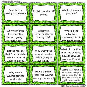 I Need My Monster - Companion Activities for Speech & Language