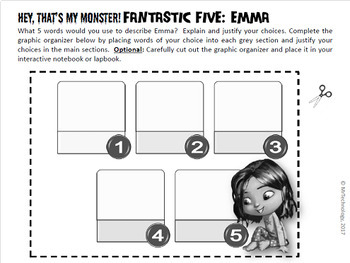 I Need My Monster / Hey, That's My Monster Reading Activities 2 Pack