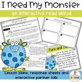 I Need My Monster Read Aloud