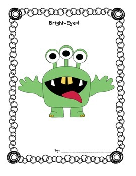 I Need My Monster Simile Writing