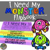 I Need My Monster by Amanda Noll Activity Flipbook