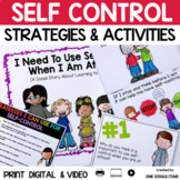 I Need To Use Self Control When I Am At School (A Social Story)