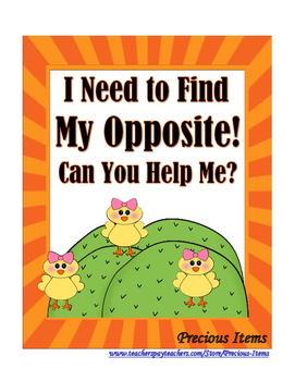I Need to Find My Opposite!  Can You Help Me?