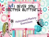 I Never Saw Another Butterfly: Holocaust Poetry
