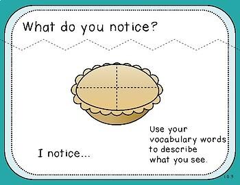 I Notice Teacher Slides (First Grade, 1.G.3)