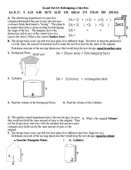 I.O.3.4: Redesigning a Juice Box