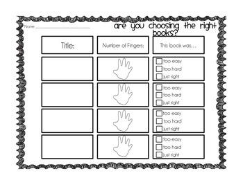 I PICK & 5 Finger Rule Book Hunts