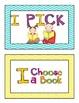 I PICK Posters & Bookmarks (Chevron)