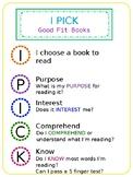 I PICK Good Fit Book Poster - Editable
